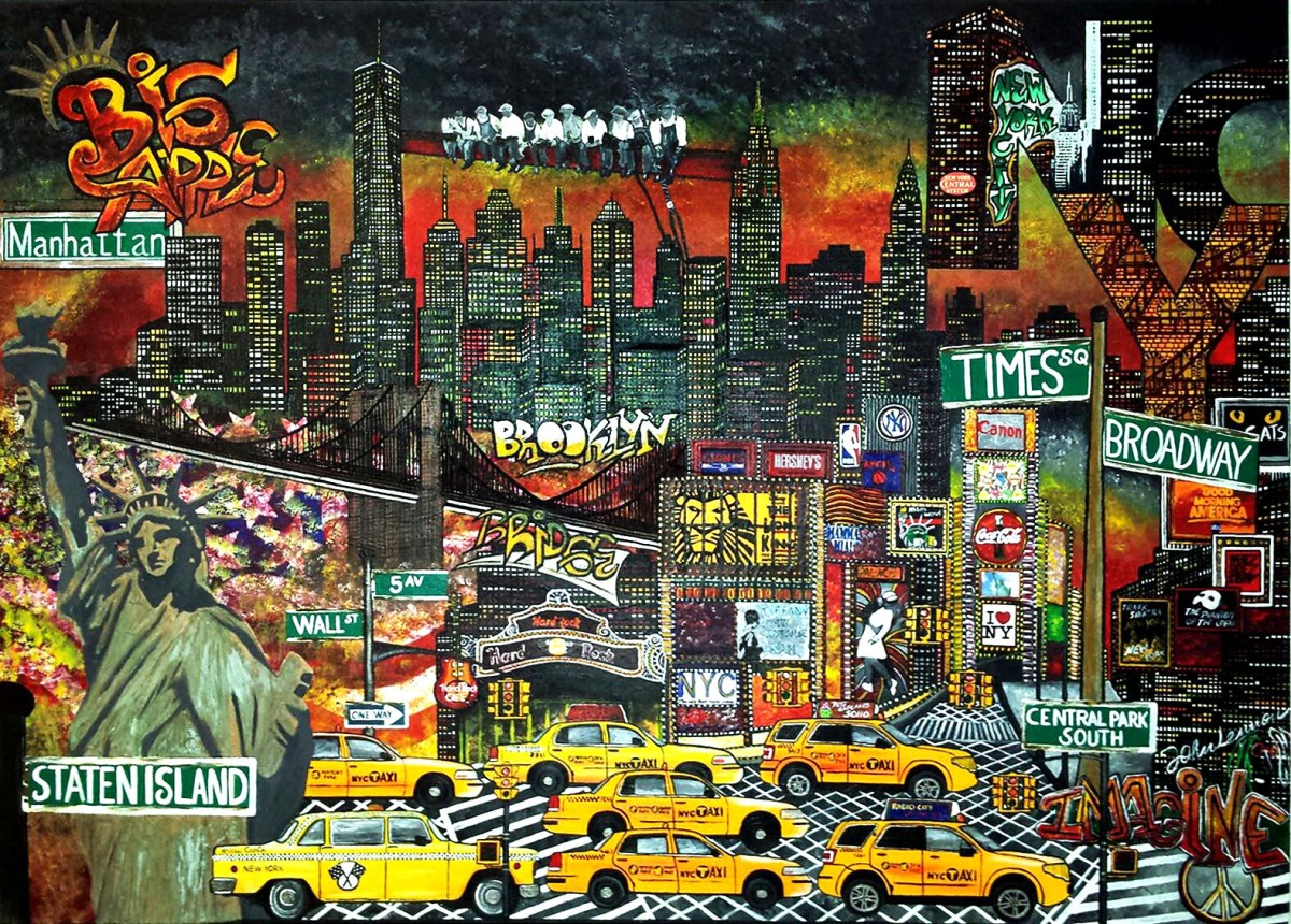 NY new york taxi brooklyn manhattan