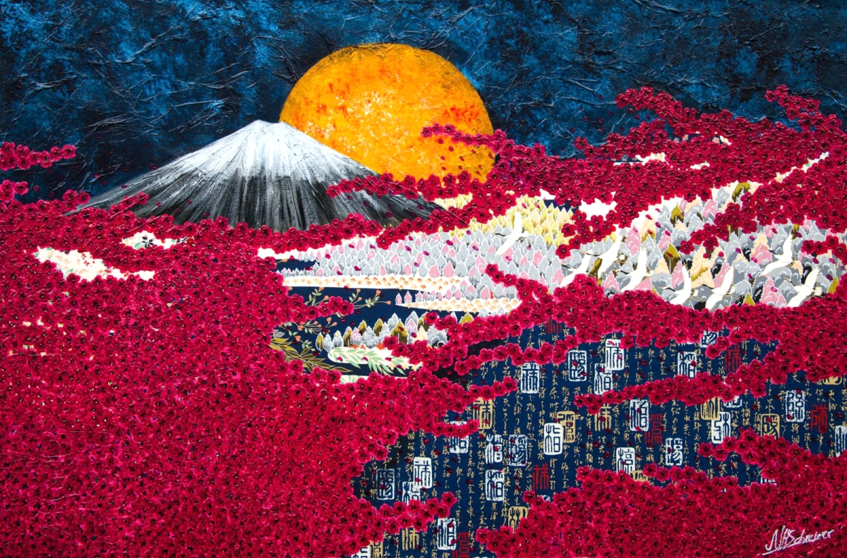 japan fuji kischblüten