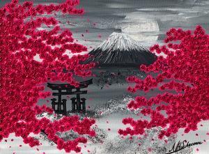 japan frühling blüten kirschblüte