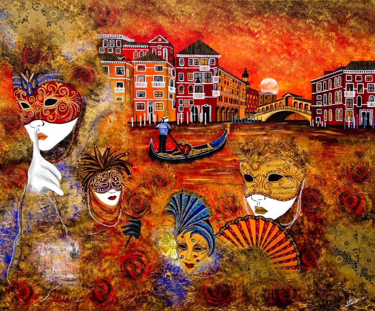 venedig venice maske karneval rialto