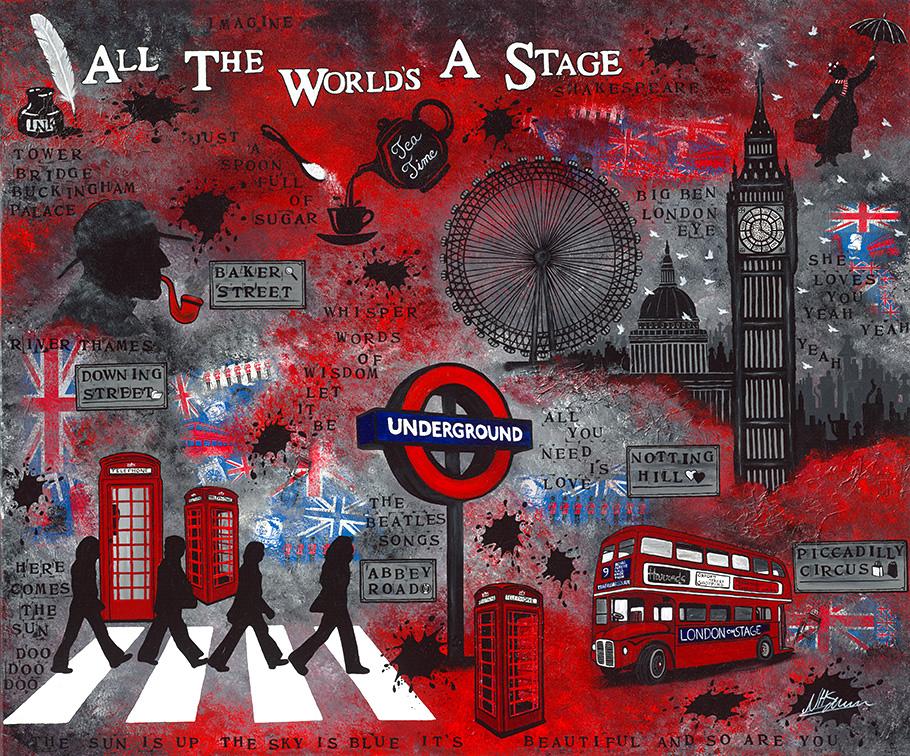 London, beatles, song, stage big ben