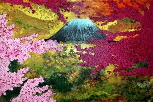 japan fuji kirschblüten