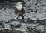 PARIS NADIA SCHREINER PAINTING JOURNEYS EIFFELTURM