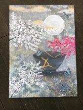 Leinwand Druck Nadia Schreiner Painting Journeys