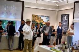 EINZELAUSSTELLUNG ERPELDANGE NADIA SCHREINER PAINTING JOURNEYS KUNST LUXEMBURG ACRYL BILD BILDER POP ART