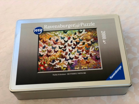 NADIA SCHREINER PUZZLE BUTTERFLY WITH ME RAVENSBURGER PAINTING JOURNEYS