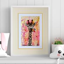 ADVICE FROM A GIRAFFE - Nadia Schreiner Fine Art Print
