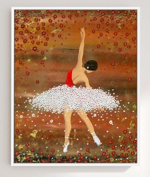BALLERINA FEDERLEICHT - Nadia Schreiner