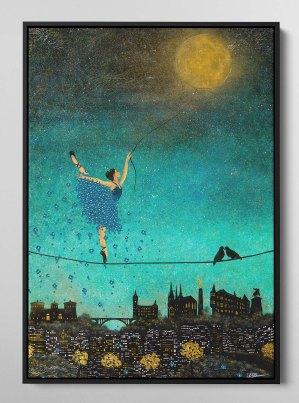 DANCING WITH THE MOON - Nadia Schreiner