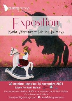 Exposition Nadia Schreiner Painting Journeys Steinsel 2021 2021 Steinsel klein
